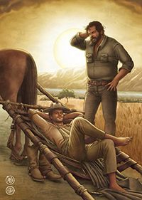 Fumetto Bud Spencer & Terence Hill