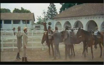 Io me ne vado a ovest in california e for Ranch a forma di l